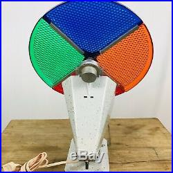 Vintage Penetray Motorized Color Wheel for Aluminum Christmas Tree withBox WORKS