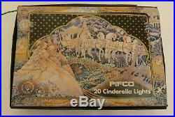 Vintage Pifco 20 Cinderella Carriage & Lantern Christmas Lights, Boxed, in vgc