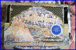 Vintage Pifco Cinderella coach and lanterns Christmas tree Lights 1978 orig box