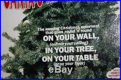 Vintage RARE Santa Magic Tree Ride All Electric The Moving Christmas Ornament