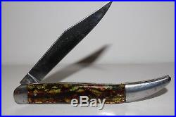 Vintage Remington Straight Line Christmas Tree Handle Texas Toothpick Knife