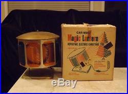 Vintage Revolving Christmas Tree Light 8 Lenses 150W Floodlight by Car Mac
