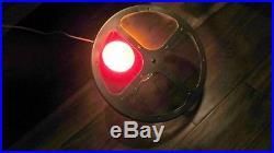 Vintage Revolving Color Lens Wheel Light Aluminum Christmas Tree Afco Lite Inbox