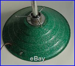Vintage Rotating Musical Christmas Tree Stand Green Glitter Jingle Bells