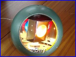 Vintage Round Metal Rainbo Rotating Color Wheel For Aluminum Christmas Tree