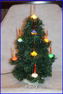 Vintage Royal 11 Light Bubble Lite Christmas Tree