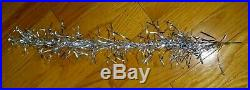 Vintage Sapphire Aluminum Silver Christmas Tree 6 Foot with 45 Branches and box