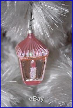 Vintage Soft White Spun Cotton Angel Hair Christmas Tree 25 Bottle Brush