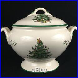 Vintage Soup Tureen with Lid Full Sized by Spode Christmas Tree S3324 England