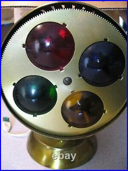 Vintage Spartus Prisma-Lite with MPC Rotating Color Wheel for an Aluminum Tree
