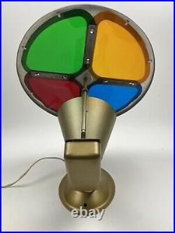 Vintage Spartus Rotating Color Wheel For Aluminum Christmas Tree Model 880