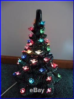 Vintage Style Ceramic Christmas Tree16