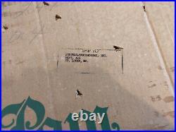 Vintage The Sparkler Pom Pom Aluminum Christmas Tree 6 Ft M-691-S Complete