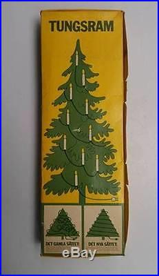 Vintage Tungsram Christmas Tree Lights 1950s