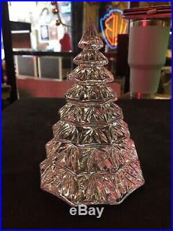 Vintage WATERFORD CRYSTAL CHRISTMAS TREE And ORNAMENTS Damage Free Beautys Wow