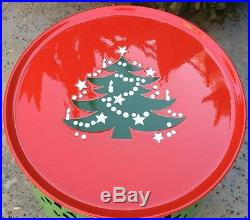 Vintage Waechtersbach Christmas Tree Footed Cake Plate West Germany Perfect
