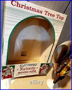 Vintage bradford christmas tree topper