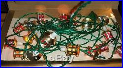 Vintage pifco mini lanterns, Xmas tree lights, pre owned, working