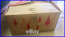 Vtg 50s 60s NOMA Aluminum CHRISTMAS TREE Box 6 Ft with Box