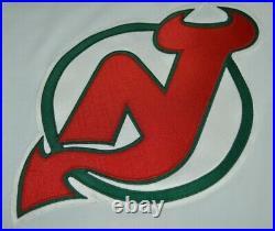 Vtg New Jersey Devils CCM Christmas Tree AUTHENTIC Hockey Jersey 1980s