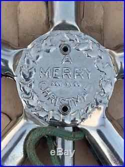 Vtg Noma Star Christmas Tree Topper Mazda Lamps Original Box Great Graphics