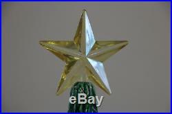 Vtg XL Nowell Mold Ceramic Christmas Tree 26 Hundreds Of Bulbs & Music Box