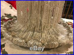 WOW! Crystal beaded Christmas Tree vintage or Antique Rare and very Rare