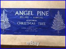 Walter Grafton Vintage Angel Pine Aluminium 4ft Christmas Tree 1950's